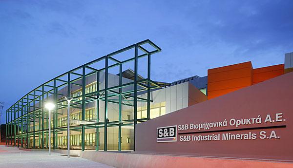 new S&B building, Athens, Greece, Feb 2005