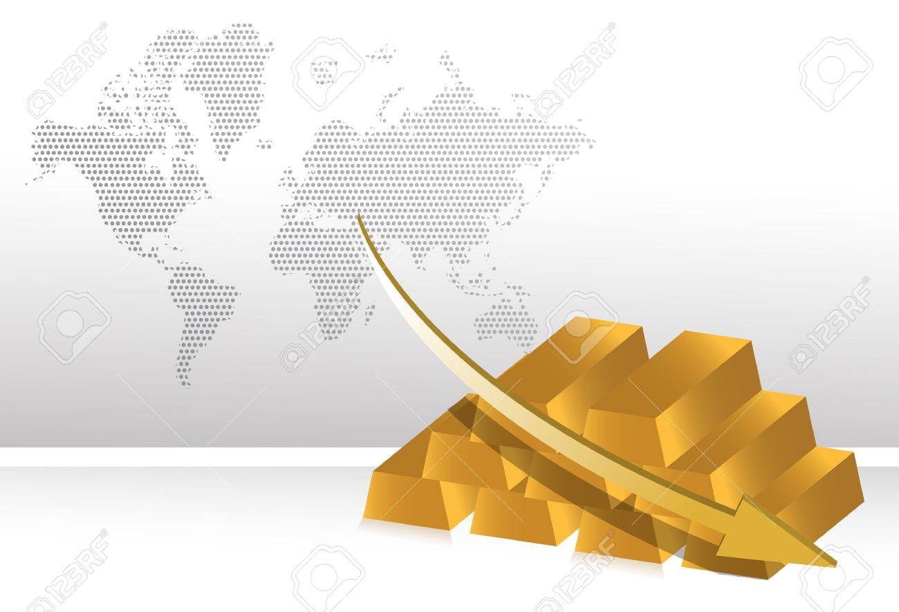 10900899-falling-gold-prices-illustration-background-Stock-Vector