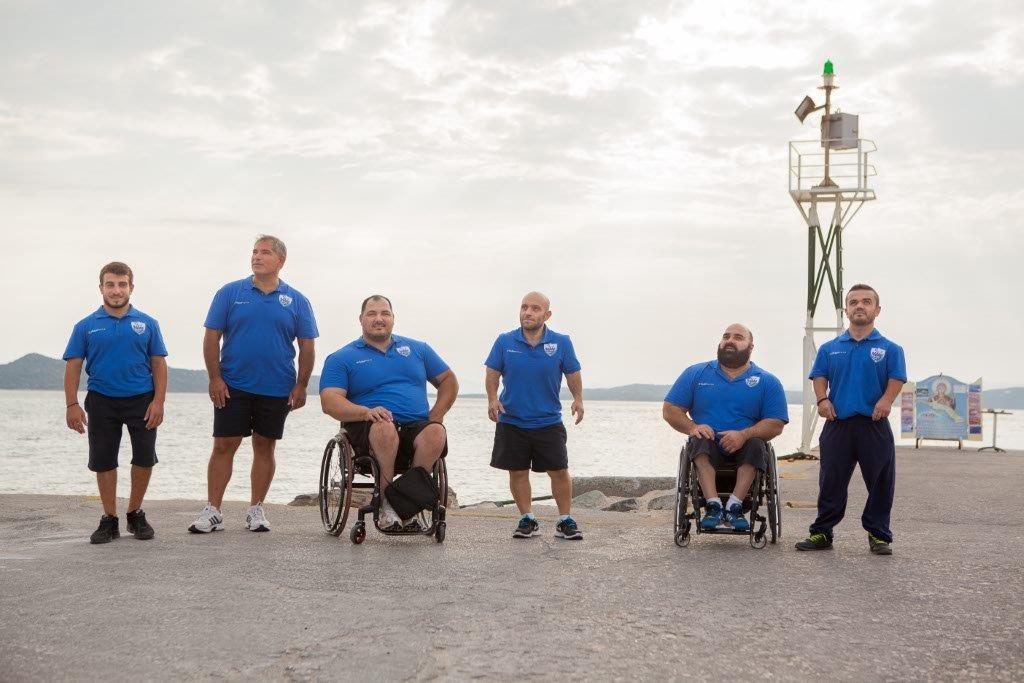 Ουρανούπολη_Εθνική ομάδα Άρσης βαρών σε πάγκο